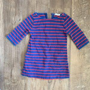 J.Crew Toddler Girls Striped Tunic Dress Size 2